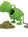 1st silikon dinosaurie form te infusions löst blad sil växtbaserade silikon filter diffusor