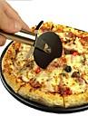 1 st rostfritt stål pizza cutter rund pizza hjul fräsar kaka bröd rund kniv cutter pizza verktyg