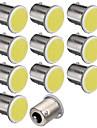 10pcs 1156 12SMD torchis blanc ampoules de couleur claire voiture de camion rv remorque style parking auto lampe led voiture 12v
