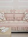väl utformade platta möbelöverdrag rosa