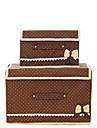 Boite de Rangement / Paniers de Rangement / Armoires Non Tisses avecFonctionnalite est Avec couvercle , PourSous-vetement / Tissu /