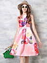 epocă femei maxlindy se întâmplă afară / petrecere / sofisticate swing pin-up rochie