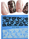 Nail Art Nail Sticker Helnageltoppar / Lace klistermärke / Nagelsmycken