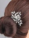 Femei Ștras Aliaj Diadema-Nuntă Ocazie specială Piepteni de Păr 1 Bucată