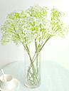 1 1 Gren Polyester / Plast Brudslöja Bordsblomma Konstgjorda blommor 23.22.1inch/59cm