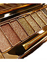 9 Lidschattenpalette Trocken / Schimmer / Mineral Lidschatten-Palette Puder Normal Alltag Make-up / Party Make-up / Smokey Makeup