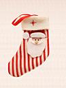 1st julgran dekoration rand jultomten strumpa hängande hem festival partitillförsel