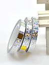 1 Autocollant d\'art de clou Bijoux pour ongles Paillettes & Poudre Autre decorations Mariage Maquillage cosmetique Nail Art Design