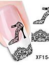 Nail Art Nail Sticker Nagelsmycken / 3D Nagelstickers