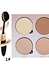 4 Eyeshadow Palette Dry Eyeshadow palette Powder Normal Daily Makeup