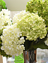"""1 Une succursale Soie Hortensias Fleur de Table Fleurs artificielles 27.6"""" x 6""""(70 x 15)"""