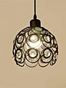 Max 60W Lampe suspendue ,  Contemporain Peintures Fonctionnalite for Cristal / Style mini MetalSalle de sejour / Chambre a coucher /