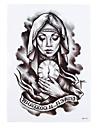 1 Tatouages Autocollants Autres Non Toxique Motif Halloween Bas du Dos ImpermeableHomme Femme Adulte Tatouage TemporaireTatouages