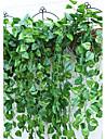 1 Une succursale Polyester Plastique Plantes Guirlande et Fleur Murale Fleurs artificielles 95(37.4\'\')