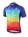 Miloto® Maillot de Cyclisme Femme Homme Enfant Unisexe Manches courtes VeloRespirable Sechage rapide Permeabilite a l\'humidite Zip