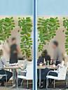 Trä/löv Modern Fönsterfilm,PVC/Vinyl Material fönster~~POS=TRUNC