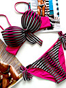 Dame Nailon Spandex Cu Susținere,Bikini Monocolor Ridicare