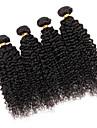 Tissages de cheveux humains Cheveux Bresiliens Tres Frise 3 Pieces tissages de cheveux