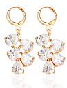 La modă Aliaj Bijuterii Auriu Argintiu Bijuterii Pentru Nuntă 1 pereche