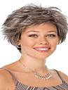 Noir perruque Perruques pour femmes Gris Perruques de Costume Perruques de Cosplay