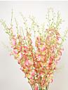 1 1 Une succursale Polyester / Plastique / Gel de silice Autres Fleur de Table Fleurs artificielles 42.121inch/103cm