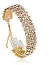 Brățări Bratari de tenis Aliaj Circle Shape La modă Nuntă Bijuterii Cadou Auriu / Argint,1 buc