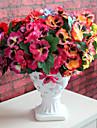 1pc 1 Une succursale Polyester / Plastique Autres Fleur de Table Fleurs artificielles 12.5inch/32CM