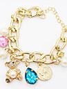 Dame Fete Brățări cu Lanț & Legături Brățări cu Talismane Piatră Preţioasă Perle Cristal Imitație de Perle Ștras imitație de diamant Aliaj