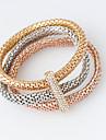 Brățări Bratari Wrap Aliaj Circle Shape La modă Bijuterii Cadou Auriu / Roze / Argint,1set