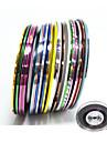 Nail Sticker Nail Art Autres Outils / Autocollant dentelle / Bijoux pour ongles / Autocollants 3D pour ongles / Kits de decoration