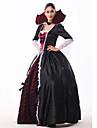 Costumes de Cosplay Bal Masque Costume de Soiree Ange et Diable Fete / Celebration Deguisement Halloween Rouge Blanc Noir Vintage Dentelle