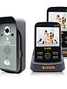 Sans Fil Sonnette video Multifamilial 3.5 Douchette a main 30W Un a deux interphone video