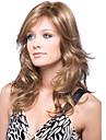 style cerebrity aspect naturel perruques de couleur marron avec Bang