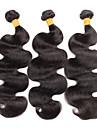 3 Pieces Ondulation naturelle Tissages de cheveux humains Cheveux Bresiliens 100 grams 8inch to 30inch Extensions de cheveux humains