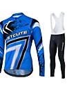 Maillot de Cyclisme Homme Unisexe Manches longues VeloVeste Pantalon/Surpantalon Chemise Shirt Survetement Anorak fleece / Polaires
