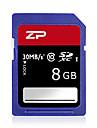 ZP 8Go carte SD carte memoire UHS-I U1 Class10