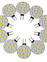 8W G4 LED a Double Broches T 15 SMD 5730 600-700 lm Blanc Chaud / Blanc Froid Decorative DC 12 V 10 pieces