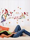 Noel / Musique / Vacances Stickers muraux Stickers avion Stickers muraux decoratifs / Stickers mariage,PVC MaterielAmovible /