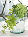 1 1 Gren Plast Kiselgel Plantor Bordsblomma Konstgjorda blommor