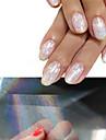 4 Sticker Manucure  Autocollants 3D pour ongles Maquillage cosmetique Manucure Design