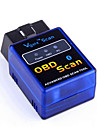 ELM327 bluetooth / Vgate detekterings bluetooth obd2 bluetooth fordonets instrument v2.1