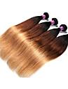 4 Pieces Droit (Straight) Tissages de cheveux humains Cheveux Bresiliens Tissages de cheveux humains Droit (Straight)