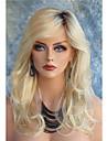 cheveux synthetiques longues perruques blondes ondulees pour perruques de mode feminine resistants a la chaleur