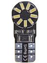10 x t10 149 W5W 2w 18x smd ampoule 3014 erreur canbus lumiere de calibre libre dome interieur (6000 - 6500k dc 12 - 16v)