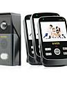 KiVOS KDB303 Wireless Visual Doorbell AC Waterproof Camera Intercom Doorbell