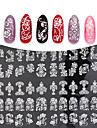 1 Autocollant d\'art de clou Autocollants 3D pour ongles Maquillage cosmetique Nail Art Design