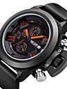 MEGIR®Brand Men\'s Popular Watches Date Chronograph Sport Watch Men Waterproof Military Watch Silicone Wristwatch Fashion Cool Watch Unique Watch