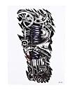 Tatueringsklistermärken Annat Ogiftig Mönster Ländrygg VattentätDam Herr Vuxen Blixttatuering tillfälliga tatueringar
