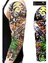 1Pcs Tatouages Autocollants Autres Non Toxic / Grande Taille / WaterproofHomme / Femme / Adulte / Adolescent flash TattooTatouages