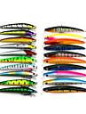 20 pcs Kits de leurre Multicolore 8.5G;11.2G g Once,9.5 CM:11.5CM mm pouce,Plastique souple Peche en mer